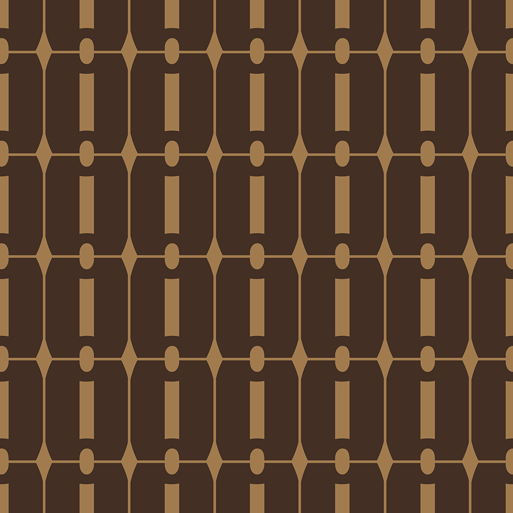 Sixties Square Pattern